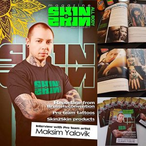 Maksim Y. | Viala Tattoo & Piercing in Darmstadt